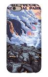 The Big Island, Hawaii - Lava Flow Scene iPhone 6 Case by  Lantern Press