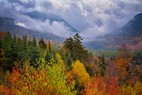 Autumn Cloudscape Kancamagus Highway, New England Photographic Print by Vincent James
