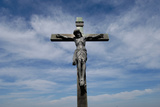 A Crucifix Against the Prairie Sky Photographic Print by Michael Forsberg