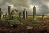 The Callanish Stones, Erected in the Late Neolithic Era Photographic Print by Macduff Everton