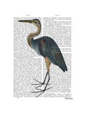 Blue Heron 3 Posters by  Fab Funky