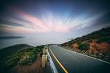 Road and Clouds, Marin Headlands, San Francisco Photographic Print by Vincent James