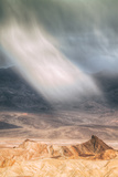Sand Storm Design at Zabriskie Point Death Valley Photographic Print by Vincent James