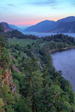 Peaceful Morning at Columbia River Gorge, Oregon Photographic Print by Vincent James