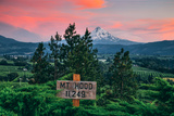 Mount Hood From Panorama Point, Hood River Oregon Photographic Print by Vincent James