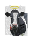 Holy Cow Posters by  Fab Funky