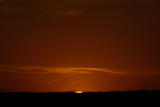 The Sun Sets over the Sand Sage Prairie Photographic Print by Michael Forsberg