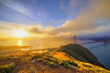 First Light at Golden Gate Bridge, San Francisco Photographic Print by Vincent James