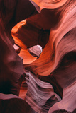 Earth Design, Antelope Canyon, Navajo Reservation, Arizona Photographic Print by Vincent James