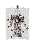 Strawberry Chandelier Prints by  Fab Funky