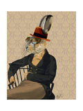 Horatio Hare on Chair Art by  Fab Funky