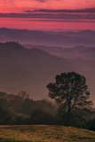 Sunset Layers, Mount Diablo, California Photographic Print by Vincent James