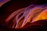 Canyon Abstract, Antelope Canyon, Page Arizona Photographic Print by Vincent James