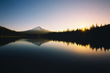 Trillium Daybreak Mount Hood Wilderness Oregon Photographic Print by Vincent James