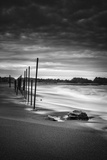 Surreal Moody Beach Scene, Fort Bragg Mendocino California Photographic Print by Vincent James