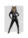 Catwoman Prints by  Fab Funky
