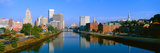Seekonk River Passing Through Providence, Rhode Island Photographic Print by Panoramic Images