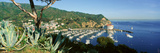 Casino Building and Avalon Harbor, Avalon, Catalina Island, California Photographic Print by Panoramic Images