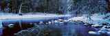 The Merced River in Winter, Yosemite National Park, California Photographic Print by Panoramic Images