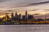 Skyline of Philadelphia Seen from Camden, New Jersey Photographic Print by Richard Nowitz