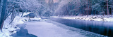 Snowy Merced River in Yosemite, California Photographic Print by Panoramic Images