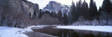 Half Dome and Merced River in Winter, Yosemite National Park, California Photographic Print by Panoramic Images