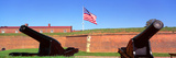 Cannons and Wall at Fort Mchenry National Monument, Baltimore, Maryland Photographic Print by Panoramic Images