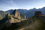 Tourists Explore the Terraced Pre-Columbian Inca Ruins of Machu Picchu Photographic Print by Jim Richardson