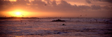 Sunrise over the Plouharnel Beach, Morbihan, Brittany, France Photographic Print by Panoramic Images
