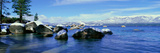 Lake Tahoe in Wintertime, Nevada Photographic Print by Panoramic Images