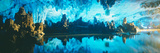 Reed Flute Cave in Guilin, Guangxi Province, People's Republic of China Photographic Print by Panoramic Images