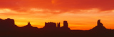 Sunrise, Monument Valley, Arizona Photographic Print by Panoramic Images