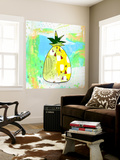 Hot Pineapple Wall Mural by Sarah Ogren