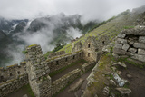 Clouds Drift over Terraced Pre-Columbian Inca Ruins Photographic Print by Jim Richardson