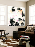 Pink and Black Wall Mural by Sarah Ogren