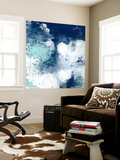 Navy Abstract II Wall Mural by Sarah Ogren