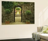 Garden Arch Wall Mural by Dennis Frates
