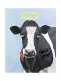 Holy Cow Premium Giclee Print by  Fab Funky