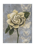 Blissful Gardenia I Premium Giclee Print by Grace Popp
