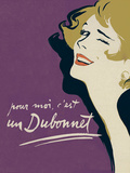 Dubonnet - Amethyst Giclee Print by  The Vintage Collection