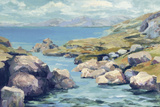 Coastal Inlet I Giclee Print by Julian Askins
