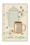 Love Coffee Print by Jade Reynolds