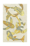 Golden Koi II Posters by Chariklia Zarris