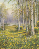 The Cowslip Field Giclee Print by John Halford Ross