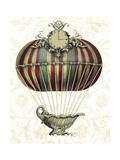Baroque Balloon with Clock Poster by  Fab Funky