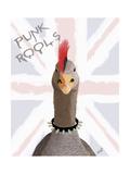Punk Rock Goose Posters par  Fab Funky