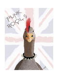 Punk Rock Goose Posters by  Fab Funky