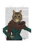 Feline Fashionista Posters by  Fab Funky