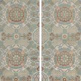 Lotus Brocade II Giclee Print by  Oriental School