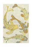 Golden Koi I Prints by Chariklia Zarris
